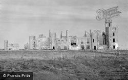 Slain Castle c.1930, Cruden Bay