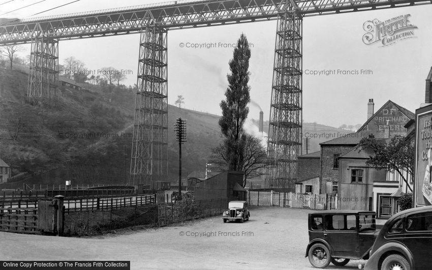 Crumlin, Viaduct 1938