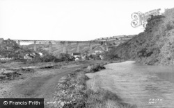 Crumlin, Viaduct And Canal c.1955