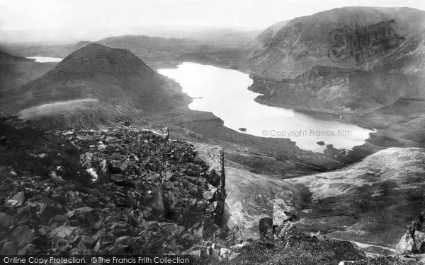 Crummock Water, Loweswater And Grassmoor 1889