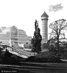 Crystal Palace, Water Tower c.1861
