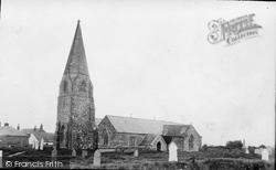 Cubert, St Cubert's Church c.1900
