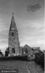 Cubert, St Cubert's Church c.1960