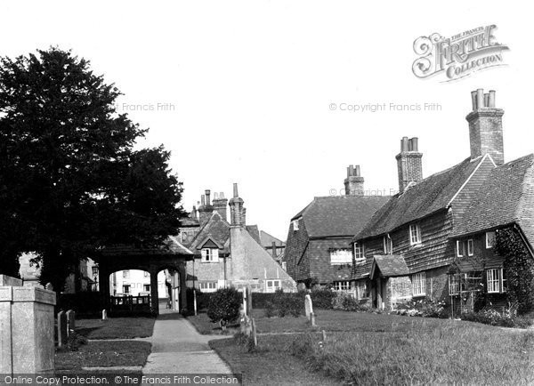 Photo of Cuckfield, Church Cottages c.1950