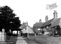 Cuckfield, Church Cottages c.1950