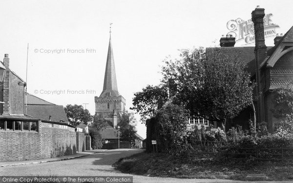 Photo of Cuckfield, Entrance To Village c.1950