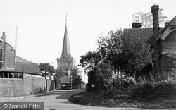 Cuckfield, Entrance To Village c.1950