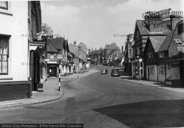 Photo of Cuckfield, High Street c.1950