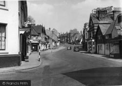 Cuckfield, High Street c.1950