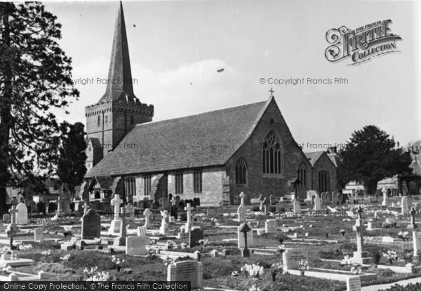 Photo of Cuckfield, Holy Trinity Church c.1950