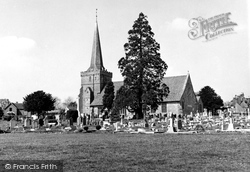 Cuckfield, Holy Trinity Church c.1950