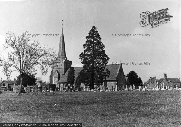 Photo of Cuckfield, Holy Trinity Church c.1950