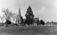 Cuckfield, Holy Trinity Church c.1950
