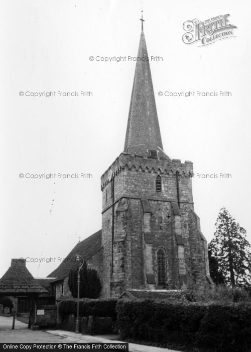 Photo of Cuckfield, Holy Trinity Church c.1960