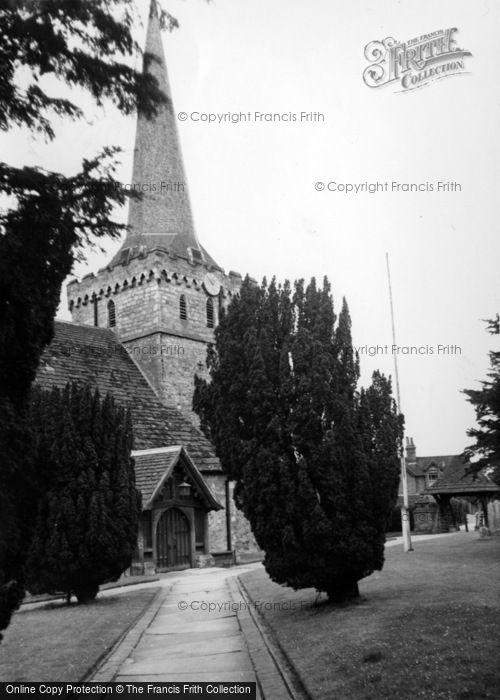 Photo of Cuckfield, Holy Trinity Church c.1960