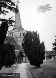 Cuckfield, Holy Trinity Church c.1960