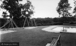 Cuckfield, Recreation Ground c.1960
