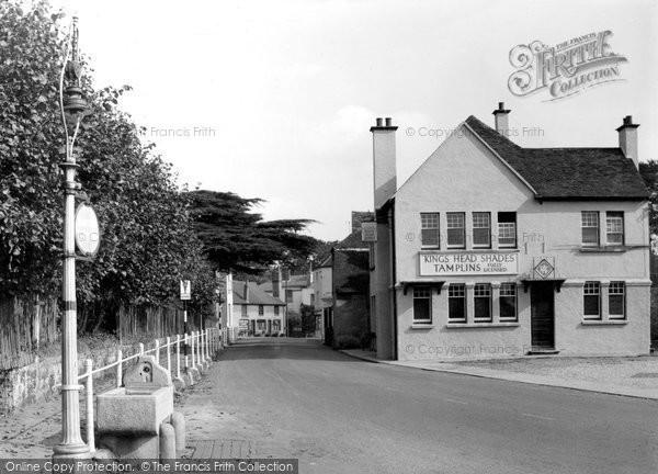Photo of Cuckfield, South Street c.1950