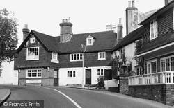 Cuckfield, Ye Olde White Harte Inne c.1955