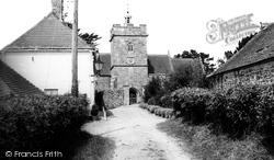 St Lawrence's Church c.1965, Cucklington