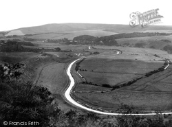 Cuckmere, The Valley From High And Over 1921