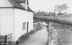 Cuddesdon, The Cottages c.1965