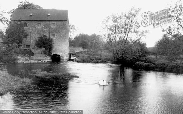 Cuddesdon,the Old Mill and River c1955,Oxfordshire