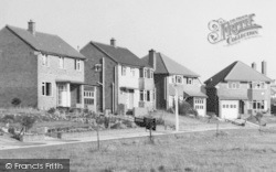 Cuddington, Cartledge Close Houses c.1960
