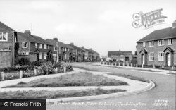 Cuddington, Manor Road, New Estate c.1955