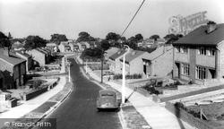 Cuddington, Moss Lane c.1960