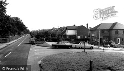 Cuddington, Post Office c.1965