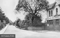 Cuddington, Station Bridge c.1950