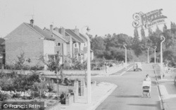 Cuddington, Valley Lane c.1960
