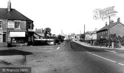 Cuddington, Warrington Road c.1960