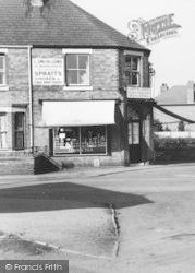 Cuddington, Warrington Road, Corner Shop c.1960