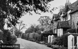 Cudham, Cackets Lane c.1955