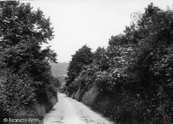 Cudham, Chalky Lane c.1935