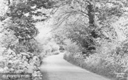 Cudham, Church Hill c.1955