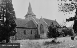 Cudham, Church Of St Peter And St Paul c.1955