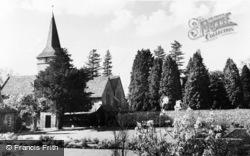 Cudham, Church Of St Peter And St Paul c.1960