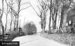 Cudham, Cudham Lane c.1955