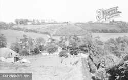 Cudham, From Berry's Hill c.1960