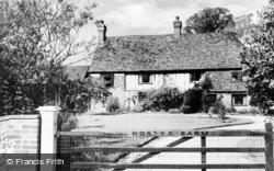 Cudham, Hostye Farm c.1960