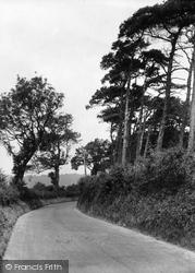 Cudham, Knockholt Road c.1935
