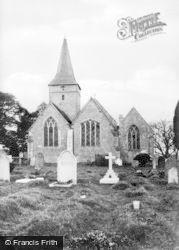 Cudham, The Church c.1955
