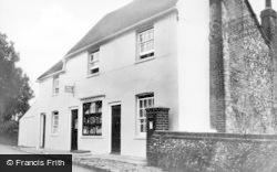 Cudham, The Post Office c.1955