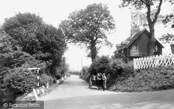 Cudham, The Village c.1935