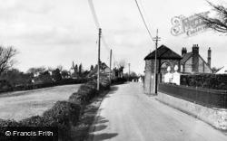 Cudham, The Village c.1955