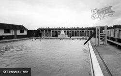 Cudworth, Swimming Baths c.1955