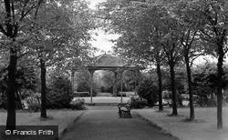 Cudworth, The Bandstand c.1960